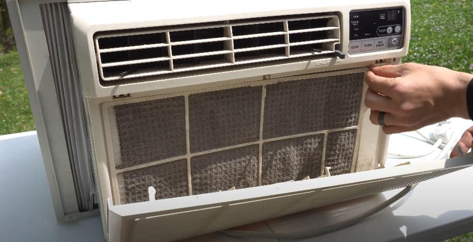 window ac not cooling